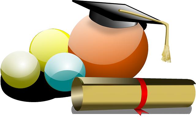 diplom a čapka