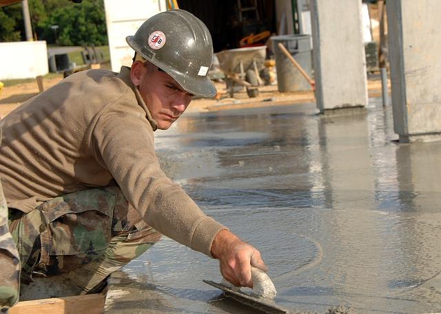 betonová podlaha